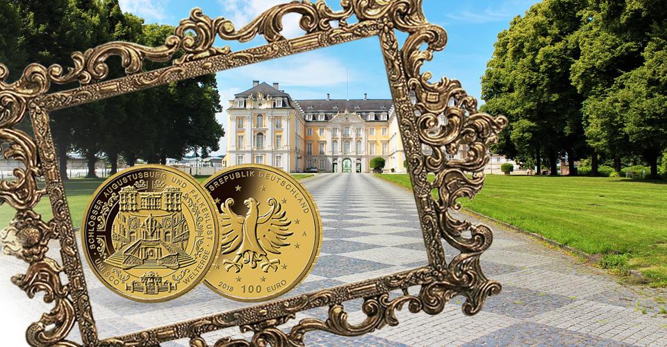 Brühler Barock auf Gold-Euro