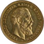 Historische 20-Mark-Goldmünzen aus dem Kaiserreich als Alternative für Anleger: Friedrich III. | MDM-Münzenblog