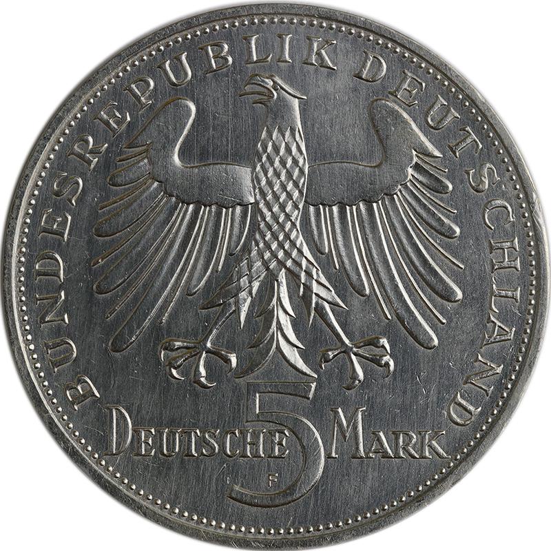 Deutsche Fünf-Mark-Gedenkmünzen starteten 1952   MDM-Münzenblog