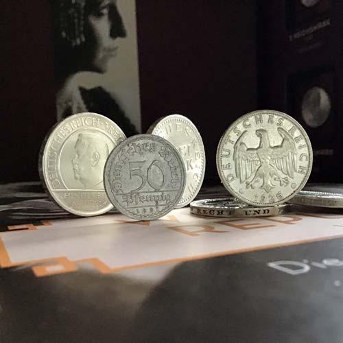 Die Münzen der Weimarer Republik: 50 Pfennig | MDM-Münzenblog