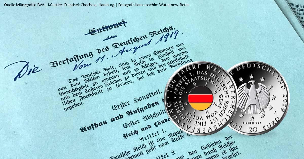 Offizielles Zahlungsmittel Deutschlands Erste Farbmünze Mdm