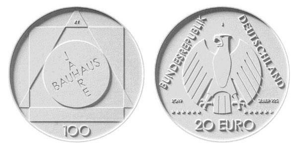 Münzwettbewerb zur Bauhaus-Silbermünze 20 Euro | MDM-Münzenblog