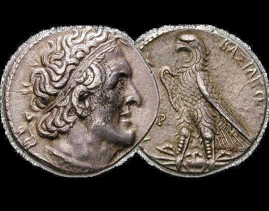 Tetradrachme von Ptolemaios (griechische Antike, Ägypten)