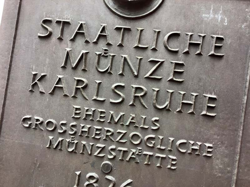 Münzprägestätte Karlsruhe