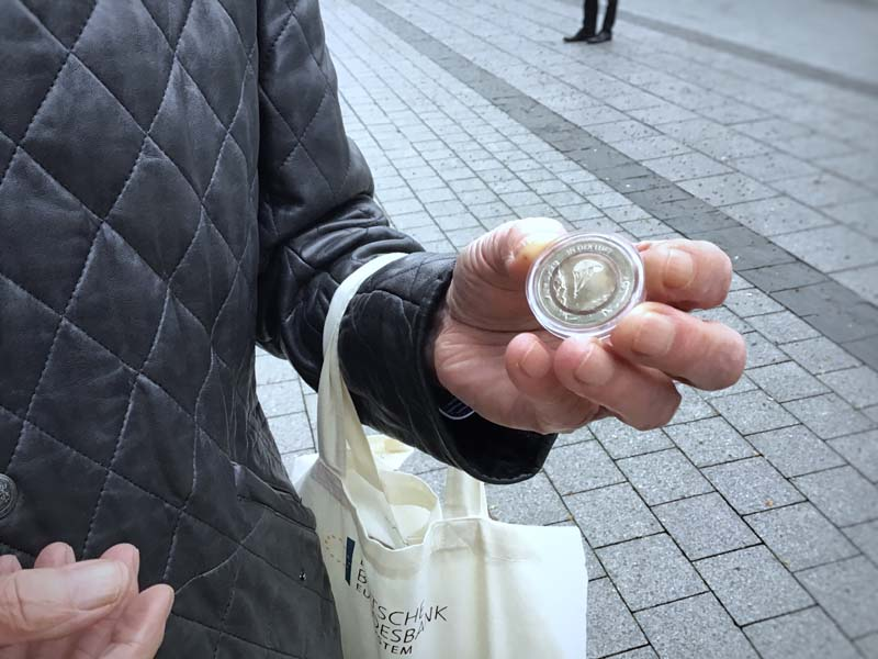 Ausgabetag 10-Euro-Münze 2019 mit Polymer-Ring