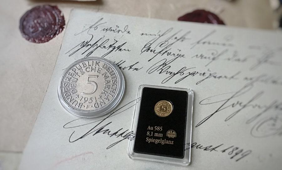 Goldmark, Heiermann & Co. – Deutschlands berühmteste Münzen | MDM-Blog