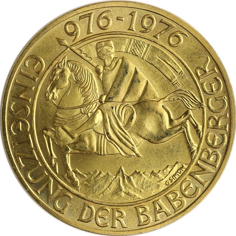 Babenberger-Goldmünze (Bildseite) | MDM-Münzenblog