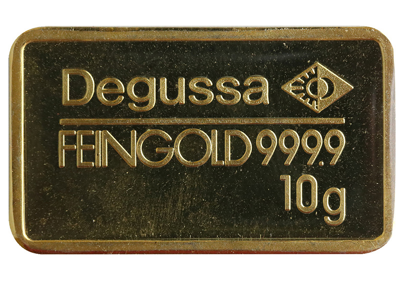Goldbarren-Fälschungen, Degussa | MDM-Münzenblog