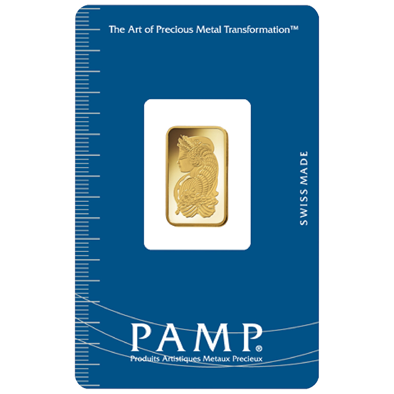 Goldbarren, PAMP Suisse | MDM-Münzenblog