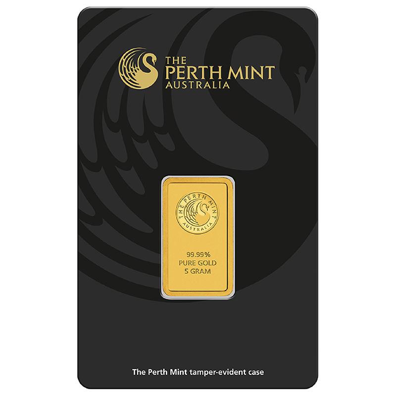 Goldbarren, Perth Mint | MDM-Münzenblog