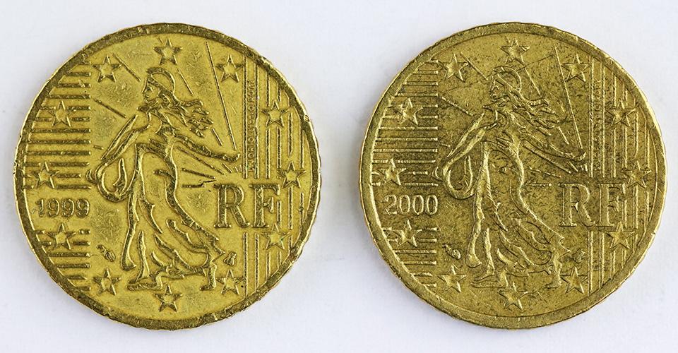 Euro-Fehlprägungen? 50-Cent-Münzen Frankreich | MDM-Münzenblog
