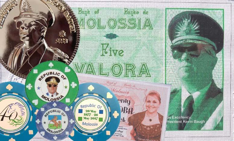 Valora-Münzen und -Banknoten