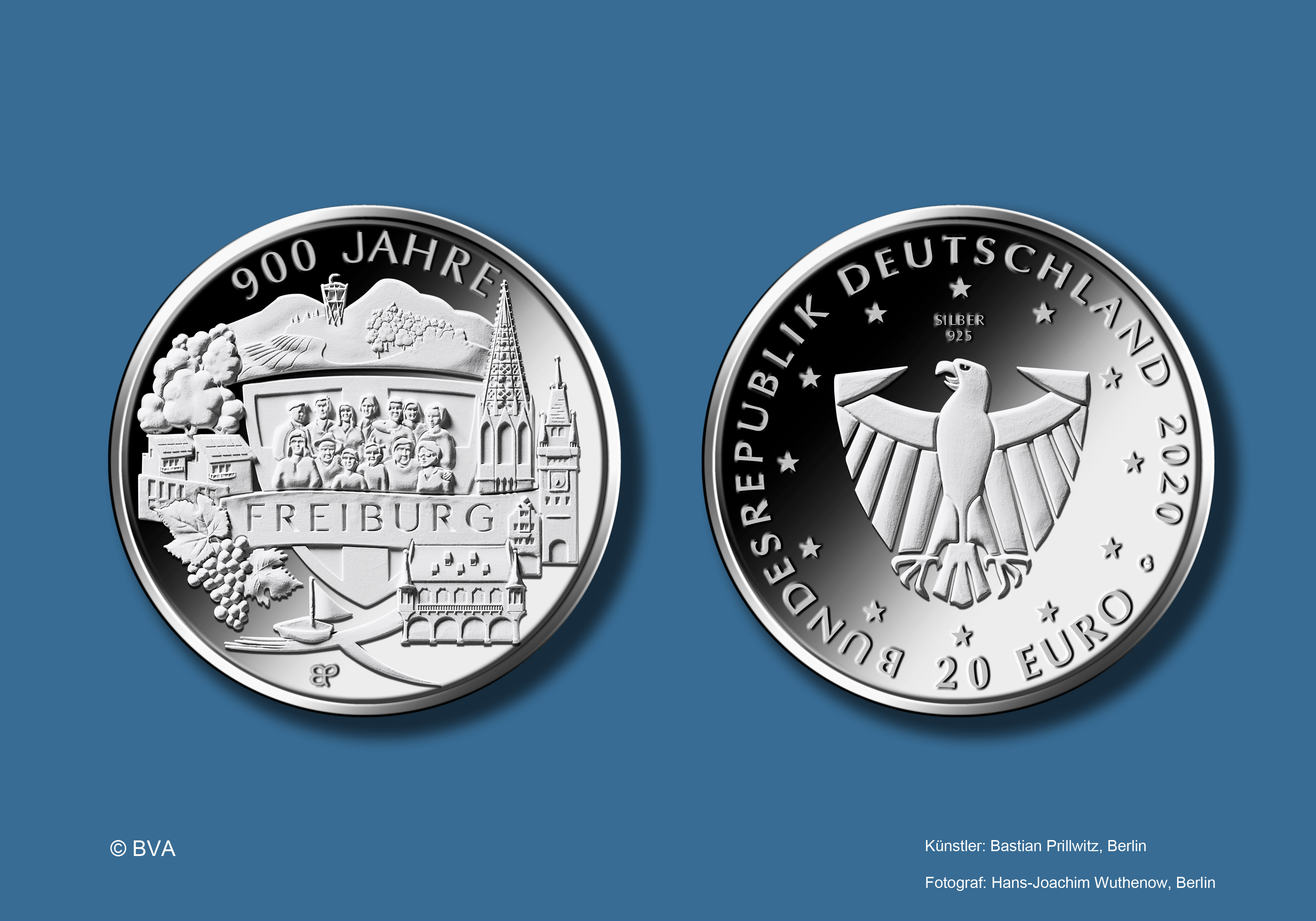 Freiburg-Münze 2020