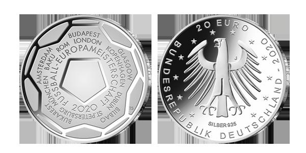 EM-Münze 2020