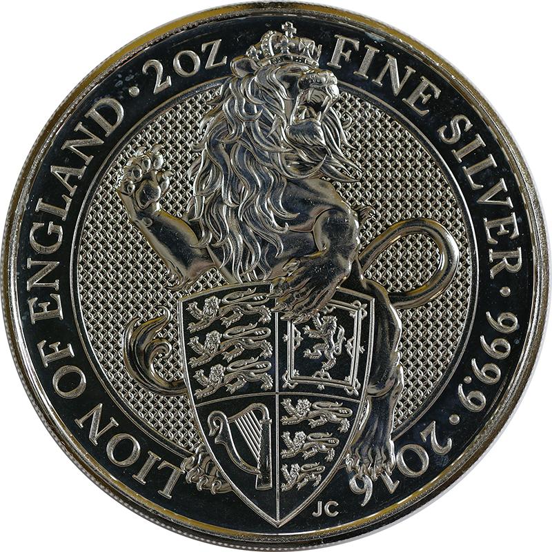 Queen's Beasts Löwe von England (2016)