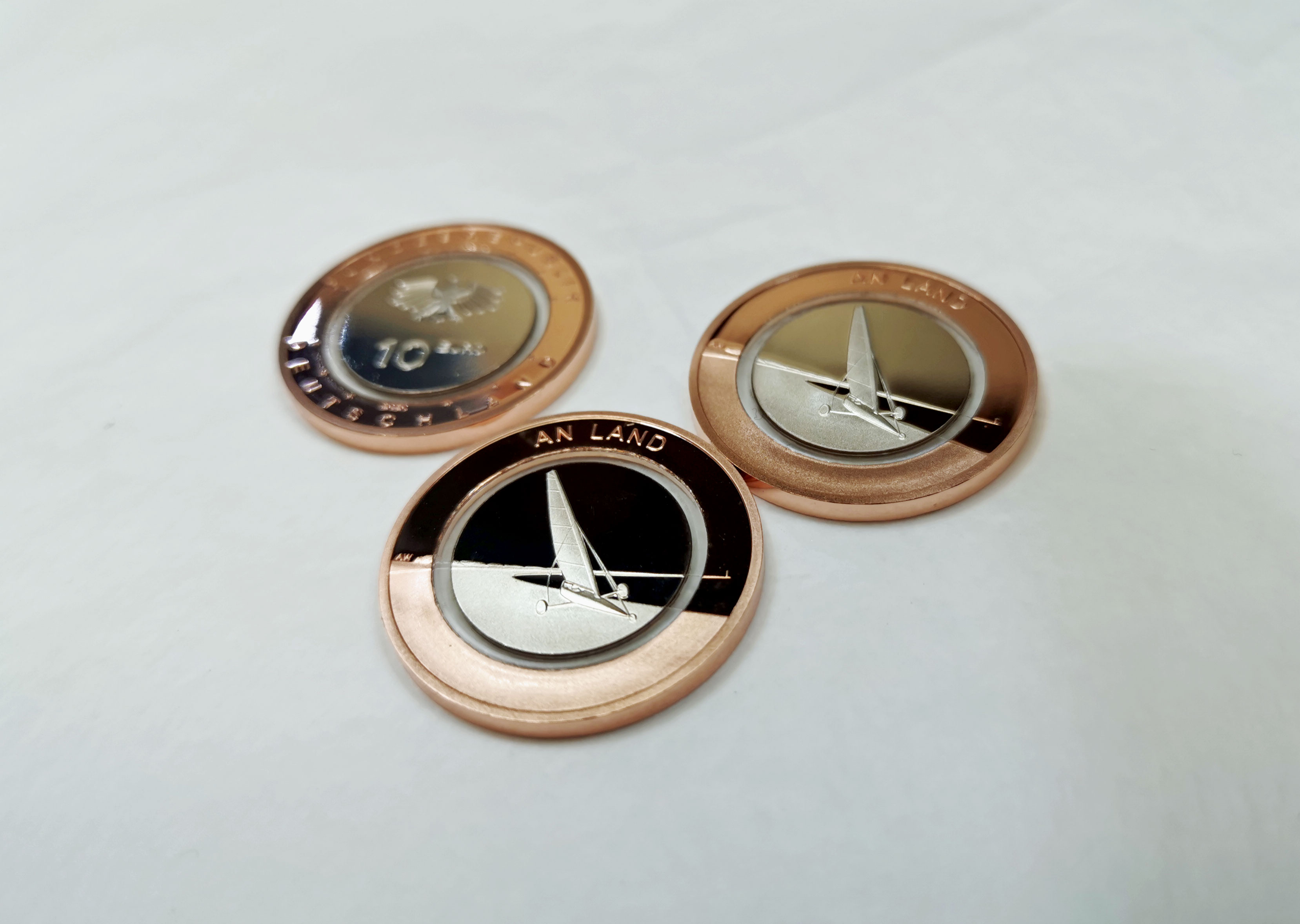 "10-Euro-Münze ""An Land"" angeprägt, Spiegelglanz | MDM-Blog"