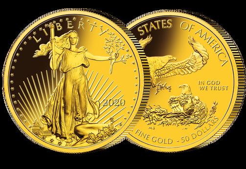 Münzneuheiten aus aller Welt, American Gold Eagle | MDM-Blog